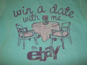 Win a Date with Me on eBay