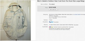 cabella Coat