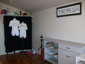 The Photo Area of My Office