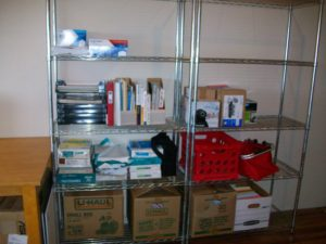 Office Storage....I love it's not overflowing...yet